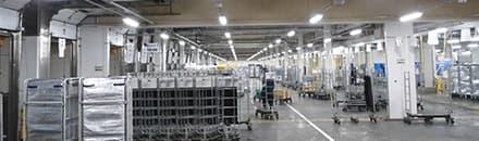 単品から量産まで対応可能な幅広い生産体制