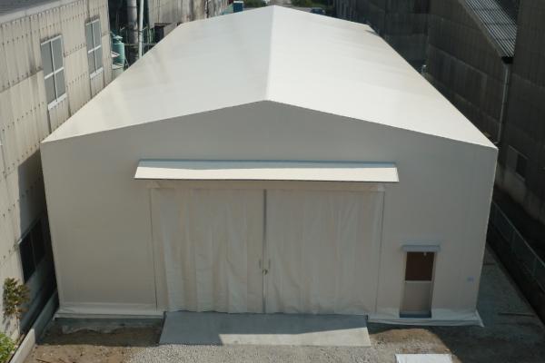 テント倉庫/固定式