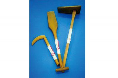 地鎮祭用の鎌、鍬、鋤など
