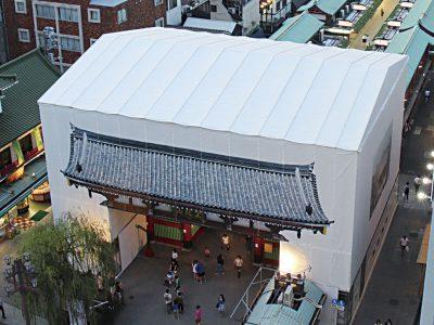 簡易屋根トラス